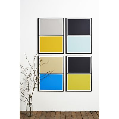 Twin Tone Play Screen Prints - Set of 4 - Polly's Pick With Frame
