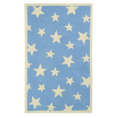Twinkling Stars: Childrens Wool Rug Twinkling Stars: Childrens Wool Rug