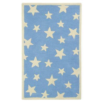 Twinkling Stars: Childrens Wool Rug Twinkling Stars: Childrens Wool Rug