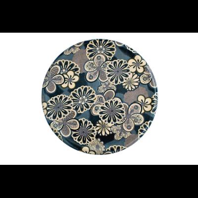 Ukiyo Round Coffee Table Imprerial Grey