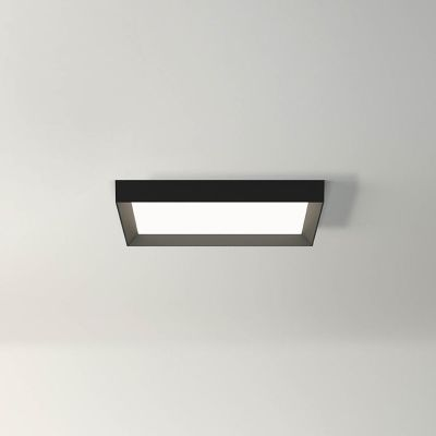 Up 4454 Ceiling Light - Square Matt White Lacquer, 4000K