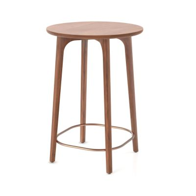 Utility Café Table Wood White Ash, 90