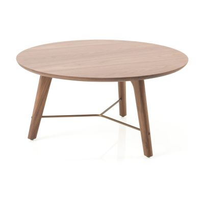 Utility Coffee Table Wood White Ash