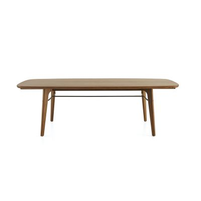 Utility Dining Table Wood Soap Finished Walnut, W2400