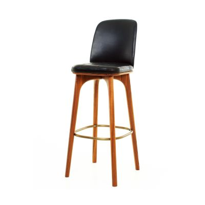 Utility High Chair SH760 Wood Black Ash, Caress Peach