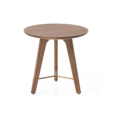 Utility Side Table Wood White Ash