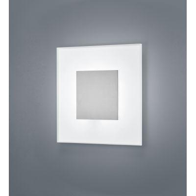 Vada Ceiling Light 27 x 27, Nickel Matt