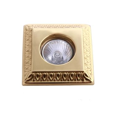 Vaduz Ceiling Light Satin Brass