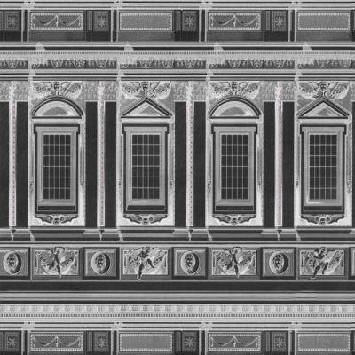 Vaticano Anthracite Wallpaper