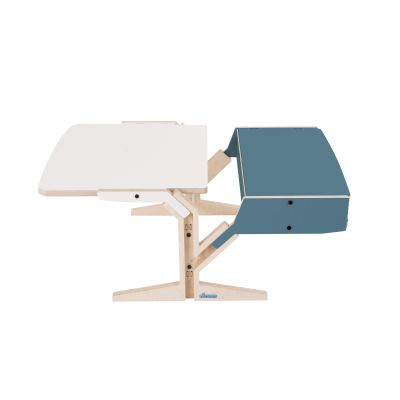 Vegetale Coffee Table - Box & Horizontal Tablet Stone Blue Grey
