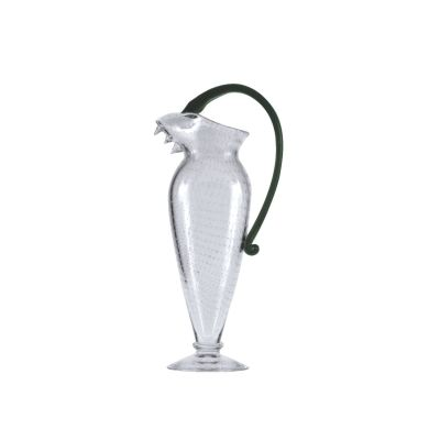 Vichy Water Jug Clear and Green