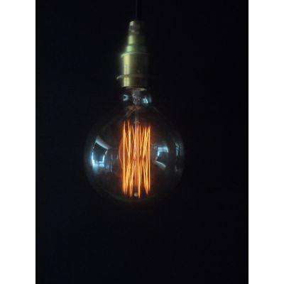 Vintage Cage Globe G125 Lightbulb