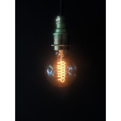 Vintage Spiral Globe G80 Lightbulb