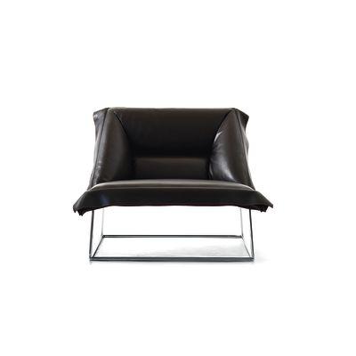 Volant Armchair Demi B0211 - Leather Oil cirè