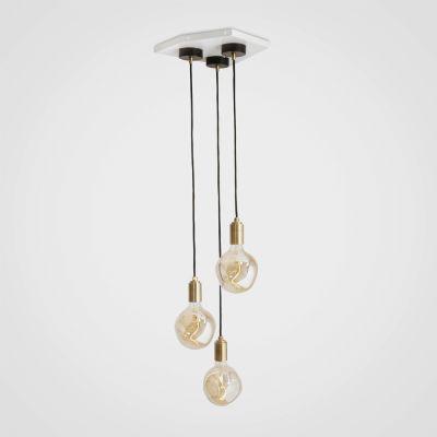 Voronoi I Brass Ceiling Light  Voronoi I Brass Ceiling Light