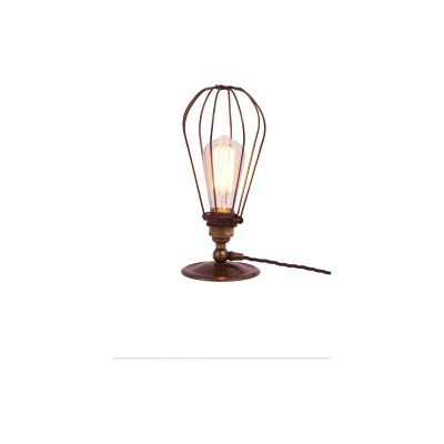 Vox Table Lamp Antique Brass, EU Plug