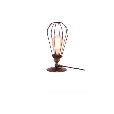 Vox Table Lamp Satin Brass, UL Plug