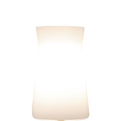 Waisted Table Lamp White