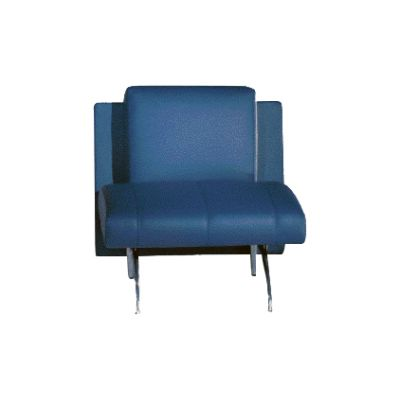 Waiting 1-Seater Element B0023 - Leather Rich, 125 X 78 X 75