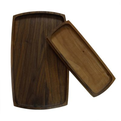 Walnut Trays - Set of 2