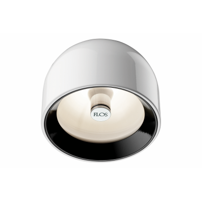 Wan C/W Ceiling Light Shiny White
