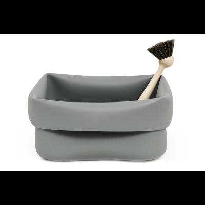 Washing-up Bowl & Brush - Ex display Grey