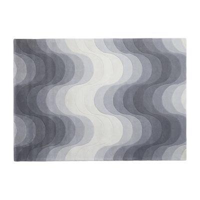 Wave Rug 78 Grey