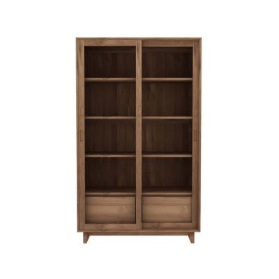 Wave Storage Cupboard Teak