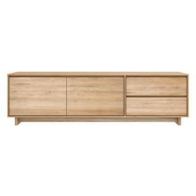 Wave TV Cupboard Oak