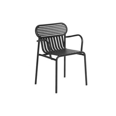 Week-End Bridge Armchair - Set Of 4 Black, RAL 9005