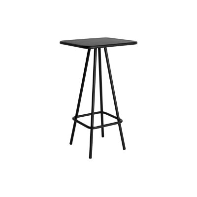 Week-End Square High Table Black
