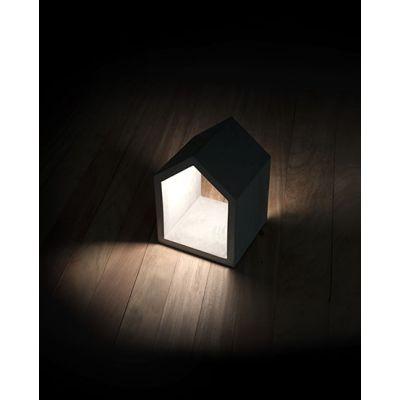 White House Outdoor Lamp Black