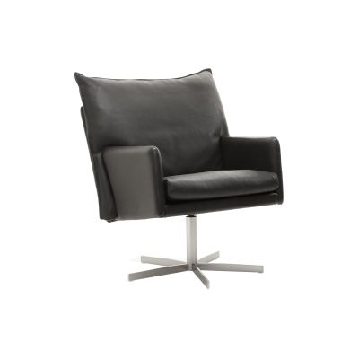 Wigwam Armchair Leather, Black Cross