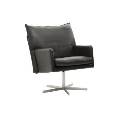 Wigwam Armchair Leather, Black Cross
