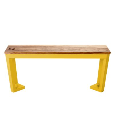 Wild Beauty Bench Yellow