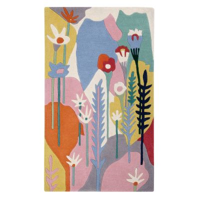 Wildflowers: Childrens Wool Rug Wildflowers: Childrens Wool Rug