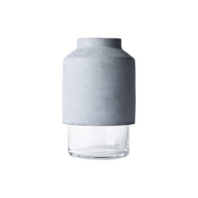 Willmann Vase Grey