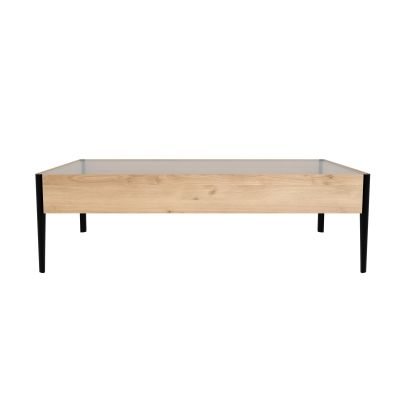 Window Coffee Table Oak