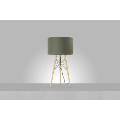 Wire Light Table Lamp 40, Khaki
