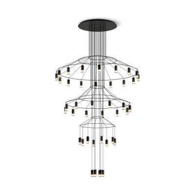 Wireflow Chandelier - 42 Leds 276cm