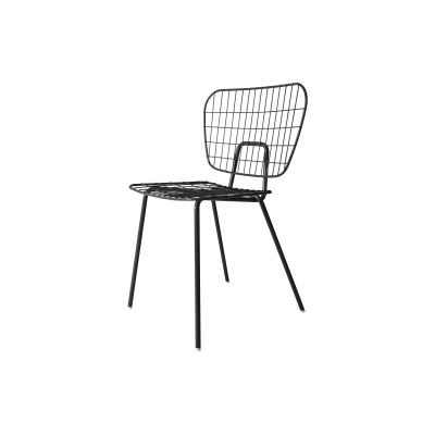 Wm String Dining Chair Black