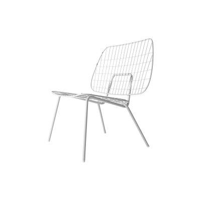 Wm String Lounge Chair White