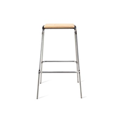 Working Girl Stool Jet Black - RAL 9005, Low
