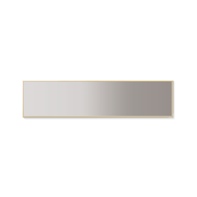 Xàbia Wall Mirror Bronze Anodised Aluminium, 238