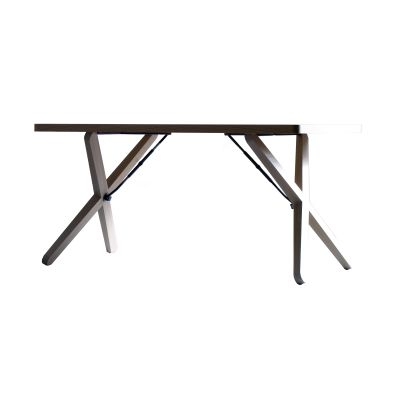 X-Tisch Table Oak White Pigmented, Large