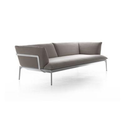Yale Sofa, 2 Seater Pelle_albicocca_R801, Black