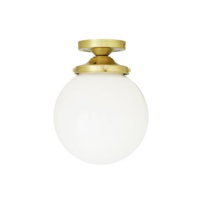 Yerevan Globe  Ceiling Light Satin Brass