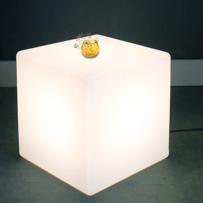Outdoor Cube Lit Table Outdoor Cube Lit Table