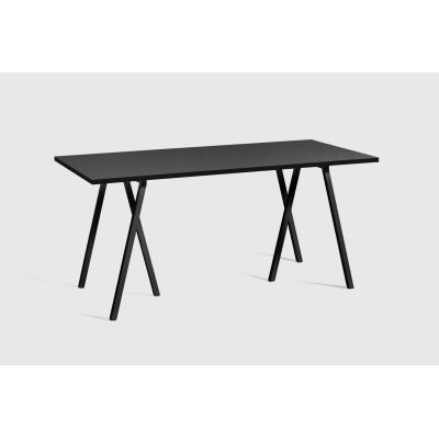 Loop Stand Rectangular Dining Table Black, 160