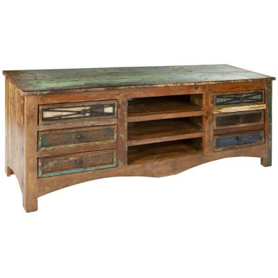 Jinja - reclaimed wood TV Unit